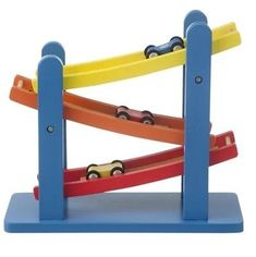 Verjaardagscadeau voor kids van 1 jaar: leuke cadeau tips voor een baby - Rollerbaan Hema #leukmetkids