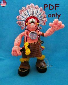 Brave Warrior amigurumi crochet pattern