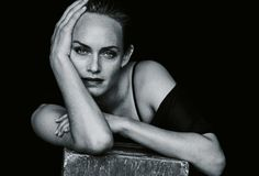 Amber Valletta by Peter Lindbergh for Zeit Magazine February 2015