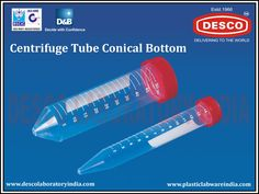 We have years of experience in providing the widest range of plastic centrifuge tubes all over the world at affordable price. Some of our products are centrifuge tube conical bottom and centrifuge tube oak ridge. For bulk orders contact us by visiting website.