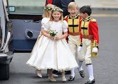 Vestidos de fiesta para damas y niñas: Vestidos de niñas y niños que llevan los anillos de boda