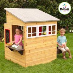 Une cabane de jardin pour les enfants   Pinterest   Fenetre ronde ...