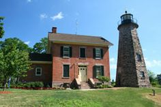 Charlotte-Genesee Lighthouse in Rochester, NY