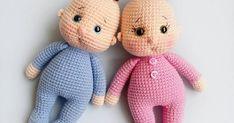 Amigurumi Little Baby Free English Pattern – Amigurumi Doll Amigurumi Free Pattern, Crochet Amigurumi Free Patterns, Crochet Bear, Crochet Doll Pattern, Baby Knitting Patterns, Amigurumi Doll, Free Crochet, Doll Patterns Free, Crochet Baby Clothes