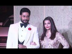 Aishwarya Rai with Abhishek Bachchan At Manish Malhotra's 51st Grand Birthday Bash.