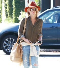Julianne Hough! Fall Style Inspiration.