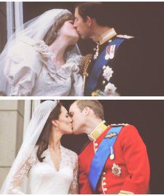 Wedding - Princess Diana and Prince Charles - Kate Middleton - The Duke and Duchess of Cambridge