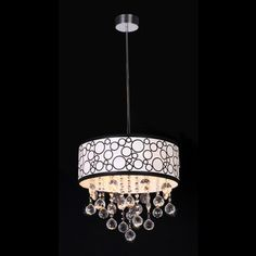 Crystal Polka Pendant Lamp   Overstock.com