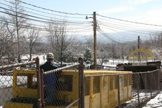The passenger car descends to begin a new season on the Lackawanna County Coal Mine Tour.
