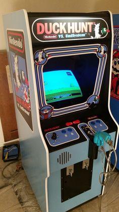 Custom Duck Hunt build by Ridicrick Man Cave Arcade, Arcade Room, Arcade Game Machines, Arcade Machine, Vintage Video Games, Retro Video Games, Pinball, Zelda Video Games, Retro Arcade Games