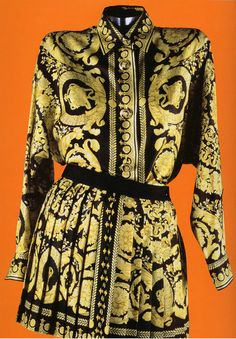 e450d80e The Art and Craft of Gianni Versace ♢ Silk Ensemble 1991-92 ♢ scanned by