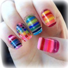 Instagram photo by keratin_canvas #nail #nails #nailart