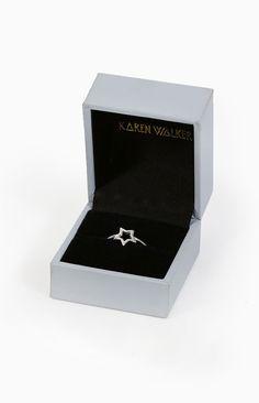 Karen Walker Mini Star Ring