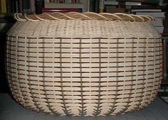 Modified Ridge Weave Basket  (because I misunderstood the directions...)  I've had that happen too.