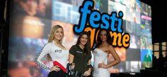 """Desde el 14 hasta el 17 de agosto se realizó la feria de videojuegos """"Festigame 2014"""" en la Estación Mapocho, Chile."""