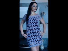 VESTITO O COPRICOSTUME ALL'UNCINETTO 3 di 3 - YouTube