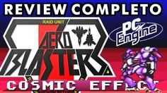 Conhece o console PC Engine? (Aero Blasters!)