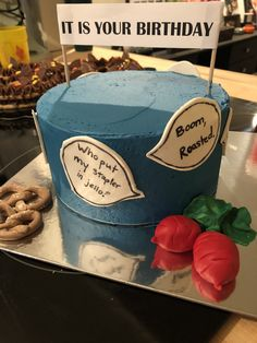 The Office Birthday Cake Office Themed Party, Office Birthday, Office Parties, It's Your Birthday, The Office Show, Office Tv, Office Memes, Party Playlist, Funny Birthday Cakes