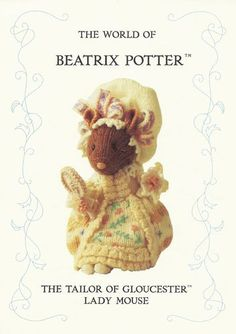 Beatrix Potter Alan Dart Pattern Tailor OF Gloucester Lady Mouse OUT OF Print | eBay