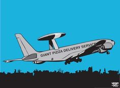 Gian Pizza Delivery Service #humor