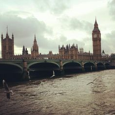 Thames and Houses of Parliament