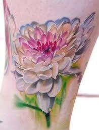 dahlia tattoo watercolor - Google Search