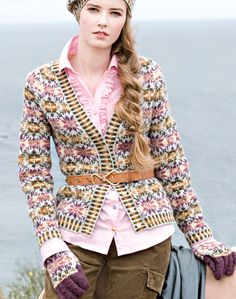 In the fall issue of Verena Knitting....now if I only knew how to knit in Fair Isle style!