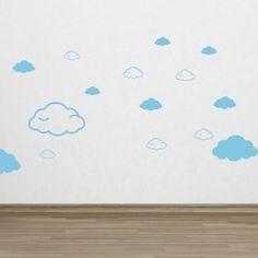 Créez une décor féérique pour vos enfants et donnez-leur l'impression de marcher sur les nuages avec ce sticker.