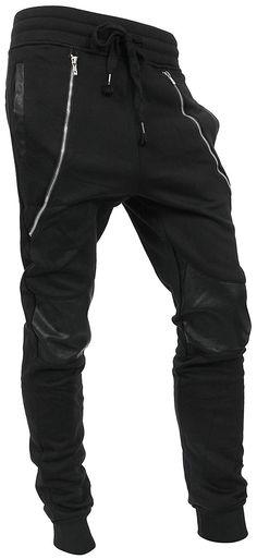 a6c9bf1bb4b Hat and Beyond WIV Mens Jogger Pants Biker Slim Fit Casual Fleece Active  Elastic 1VWA5001-18 at Amazon Men s Clothing store