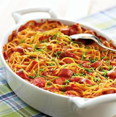 Pasta Dishes, Spaghetti, Food And Drink, Snacks, Koti, Dinner, Ethnic Recipes, Drinks, Noodles