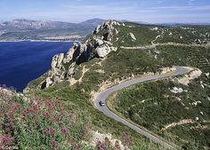 Route des Cretes, Provence, France