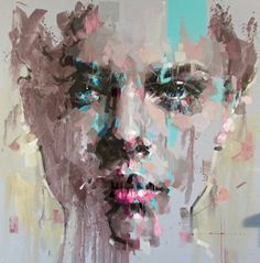 Jimmy Law Abstract Portrait Painting, Abstract Art, Jimmy Law, Sketches, Portraits, Fan Art, Inspiring Art, Drawings, Face