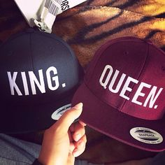 King /Queen  Gorras