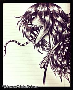 THIS IS MY FAVORITE CREEPYPASTA CHARACTER!! LAUGHING JACK!!! :D