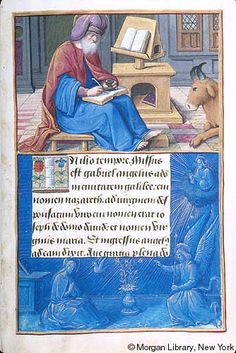 Hours of Henry VIII, MS H.8 fol. 9r - Images from Medieval and Renaissance Manuscripts - The Morgan Library & Museum