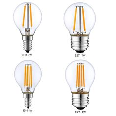 1.80$  Watch now - http://ali89p.shopchina.info/go.php?t=32792856361 - Dimmable E14 E27 G45 Retro LED Filament Light Globe Bulb 1W 2W 4W Edison Vintage Ampoule Led Lamp 220V 240V indoor Lighting  #bestbuy