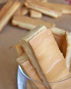 Ciastka Klawisze Sweet Little Things, Polish Recipes, Polish Food, Happy Foods, Biscotti, Peanut Butter, Sweet Tooth, Good Food, Food And Drink