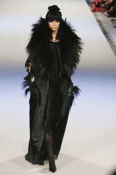 """lelaid: """"Tiiu Kuik at Christian Lacroix Haute Couture F/W 2006 """""""