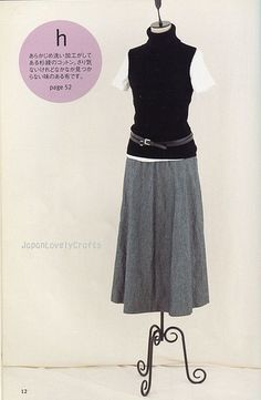 Skirt A La Carte by Machiko Kayaki - Japanese Sewing Pattern Book for Women -
