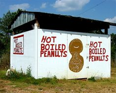There's something about boiled peanuts I like!    They taste good!  Iconic roadside stand.