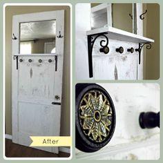 The Grande Design: Far Too Chic To Be Shabby: Repurposed Door