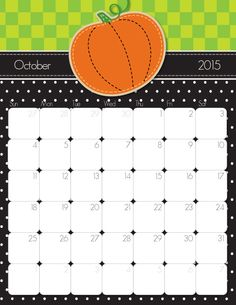 Download our free (and better yet cute!) 2015 printable calendars. January through December are available in PDF format. #freeprintable #calendar #momlife