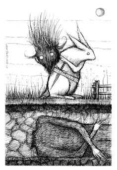 The Krampus Hunter by joncarling on Etsy, $20.00