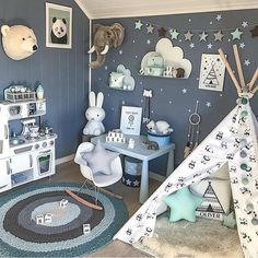 What a great room for a toddler!