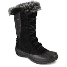 The North Face Nuptse Purna Boot Women's Shiny TNF Black/TNF Black 10.5 * To view further for this item, visit the image link.