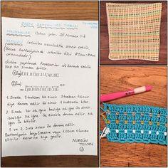 Nurgün Tezcan'dan bebek battaniyesi yapımının sırrı burada!  Malzemeler: Koton ip ve 3.5 numara tığ #İşinSırrıDeryada @deryabaykal @foxturkiye