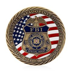 Free delivery US FBI Saint Michael Commemorative Challenge Coins Collection Token Art Craft Drop ship(China) Police, Law Enforcement Badges, China Crafts, Coin Art, Thing 1, Challenge Coins, New Uses, Enamel Paint, St Michael
