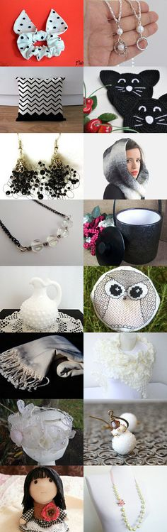 Black and White by Wirednstrung on Etsy--Pinned with TreasuryPin.com