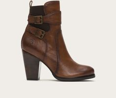 FRYE | Patty Gore Bootie - Chocolate