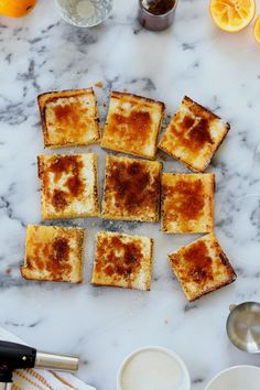 Meyer Lemon Bar Brûlée
